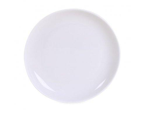 Блюдце белое Классика 12,7 см