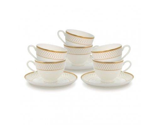 Набор чайных пар Искандер на 6 персон
