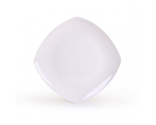 Тарелка квадратная Классика 19,5 см
