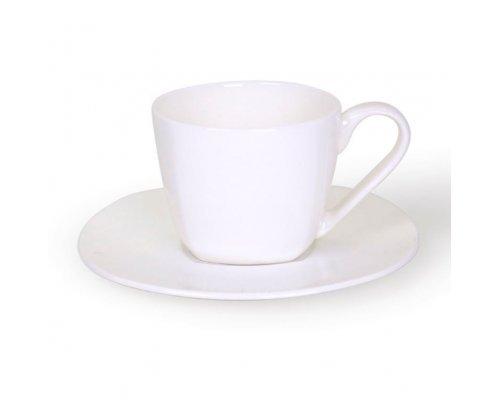 Кофейная пара квадратная Классика Акку 120 мл