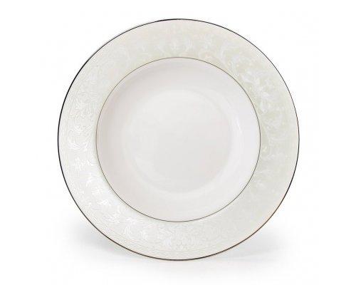 Тарелка суповая полупорционная Ариадна 350 мл, 23 см.