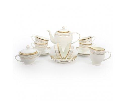 Чайный сервиз Искандер на 6 персон 15 предметов
