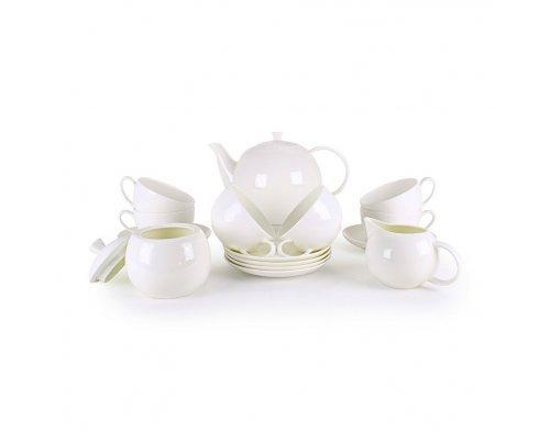 Чайный сервиз Розалия на 6 персон 15 предметов