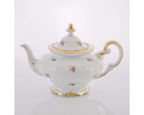 """Чайник 1,2л. Weimar Porzellan """"Мейсенский цветок"""""""