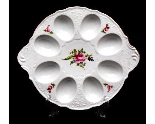 Тарелка для яиц 25см. Бернадотт Полевой цветок