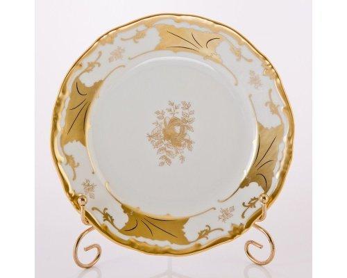 """Набор тарелок 19см. 6шт.Weimar Porzellan """"Кленовый лист белый"""""""