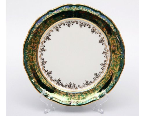 "Набор тарелок Bavaria ""Лист зеленый"" 19см. 6шт."