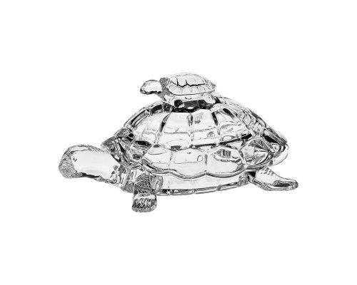 Ваза для конфет 26,5cм Черепаха Crystalite Bohemia