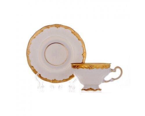 Набор кофейный Престиж Weimar Porzellan на 6 персон 12 предметов 160 мл подарочный