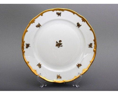 """Набор тарелок 24см. 6шт. Weimar Porzellan """"Роза золотая """""""