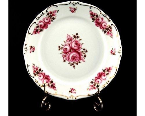 "Набор тарелок 19см. 6шт. Weimar Porzellan ""Роза"""