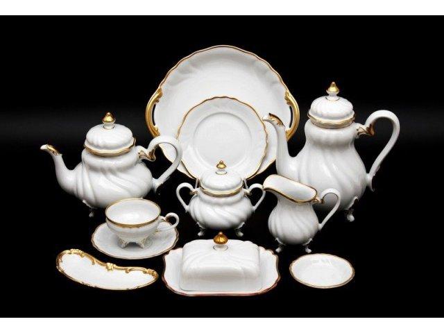 """Сервиз чайный на 6 персон 31 предмет Weimar Porzellan """"Элеганс"""""""