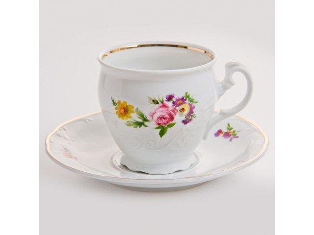 """Набор для чая 160мл. на 6 персон 12 предметов Thun """"Тулип 73900"""""""