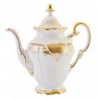 Кофейник Симфония Золотая Weimar Porzellan 1,3 л