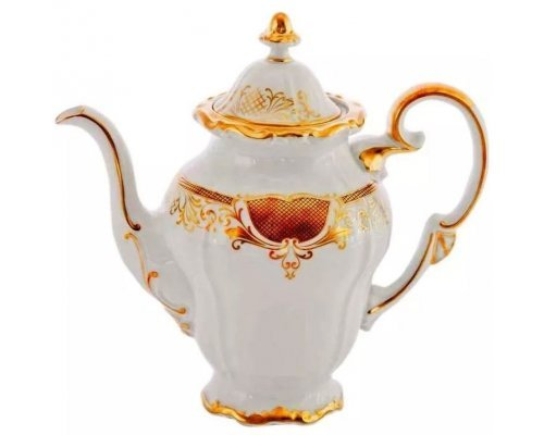 Кофейник Симфония Золотая Weimar Porzellan 1,75 л