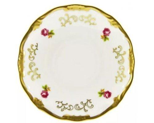 Набор блюдец Санкт Петербург белый Weimar Porzellan 15 см 6 штук