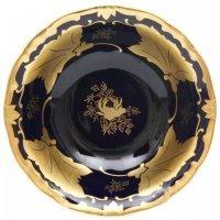 Набор салатников Кленовый лист синий Weimar Porzellan 13 см 6 штук