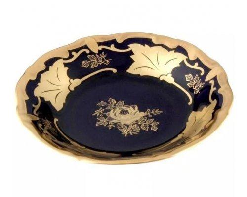 Набор розеток Кленовый лист синий Weimar Porzellan 11 см 6 штук