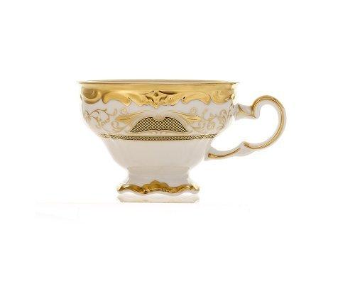 Набор чайных чашек Симфония Золотая Weimar Porzellan 210 мл 6 штук