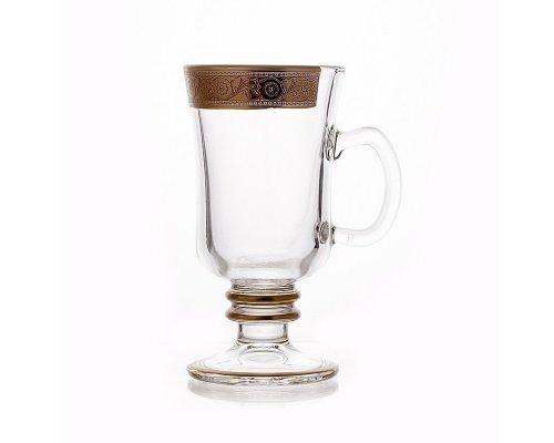 """Набор кружек для чая 240мл. на 6 персон """"Богемия Джесси"""" Union Glass"""