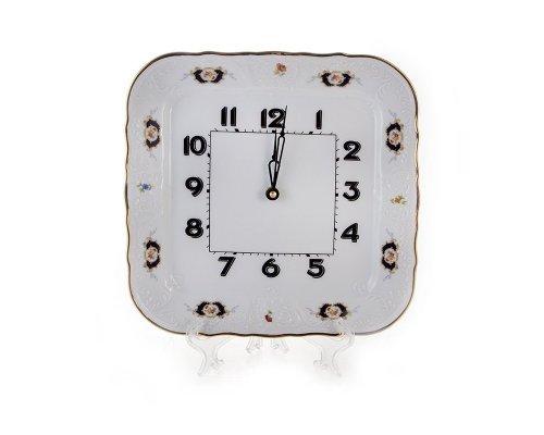 Часы настенные квадратные 26 см. Бернадотт Синий глаз