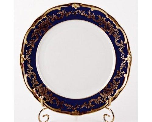 "Набор тарелок 24см. 6шт Weimar Porzellan ""Ювел синий """