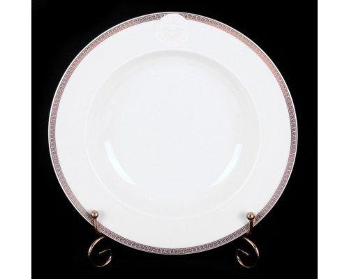 "Тарелка глубокая Rosenthal ""Медальон Меандр"" 22см."