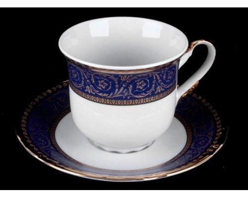 """Набор для чая 155мл. высокий Thun """"Констанция 628000"""" на 6 персон 12 предметов"""