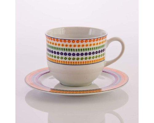 "Набор для чая на 6 персон 12 предметов ""Тхун """