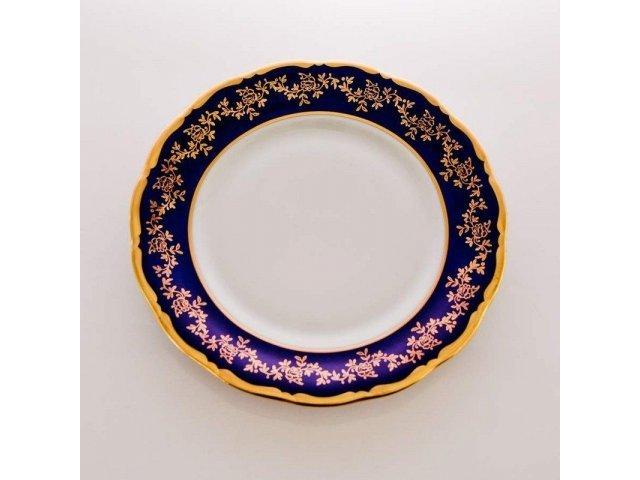 "Набор тарелок ""Борокко кобальт 202"" 17см. 6шт."