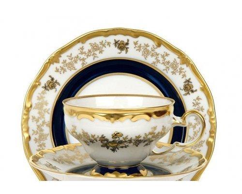 """Набор чайный 210мл. на 6 персон 12 предметов Weimar Porzellan """"Анна Амалия"""" подарочный"""