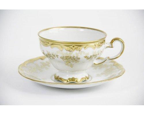 """Набор чайный 210мл.на 6 персон 12 предметов подарочный Weimar Porzellan """"Кастэл"""""""