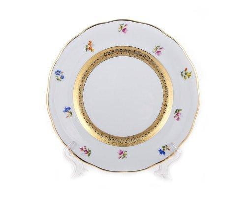 Набор тарелок 19см Золотая лента и цветы Epiag Аляска 3052 6шт.