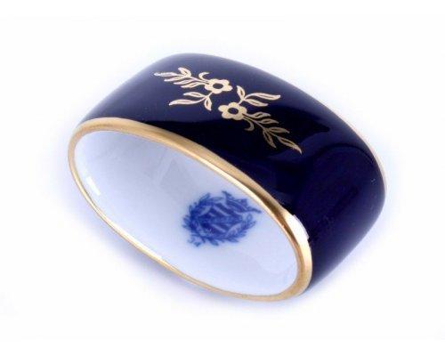"Кольцо для салфетки Weimar Porzellan ""Ювел синий """