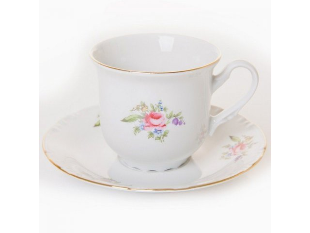 """Набор для чая на 6 персон 12 предметов Thun """"Констанция 632700"""""""