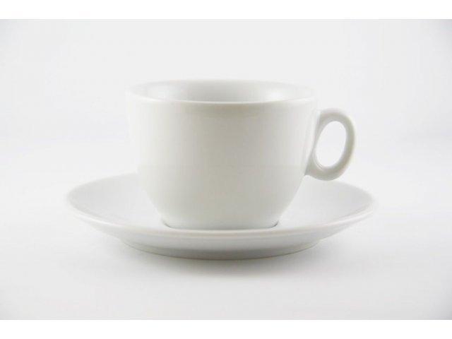 "Чашка с блюдцем (130мл+15см) Thun ""Вариоус Луна"""