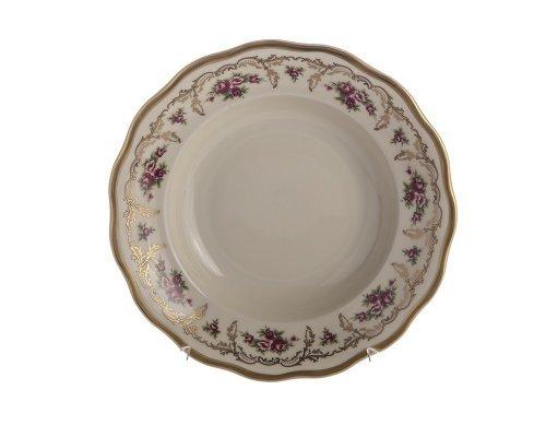 Набор глубоких тарелок 22,5см. Epiag Слоновая кость Аляска 2736 6шт.