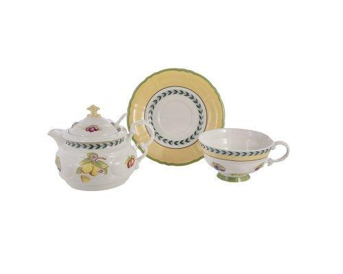 Набор для чая Leander Соната 2703 Фрукты 0.2 л на 1 персону 3 предмета