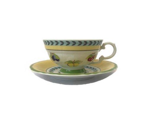 Набор для чая 200мл Leander Соната 2703 Фрукты на 6 персон 12 предметов
