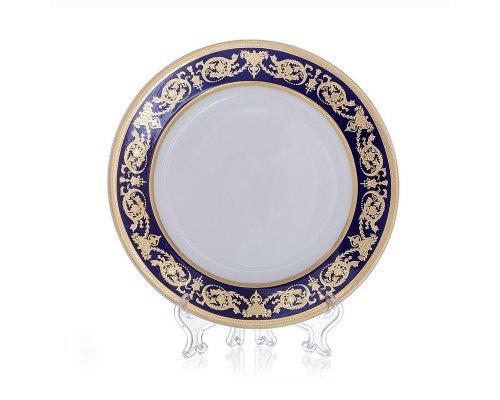 """Набор глубоких тарелок 23см. 6шт.Bavaria """"Александрия Кобальт/зол."""""""