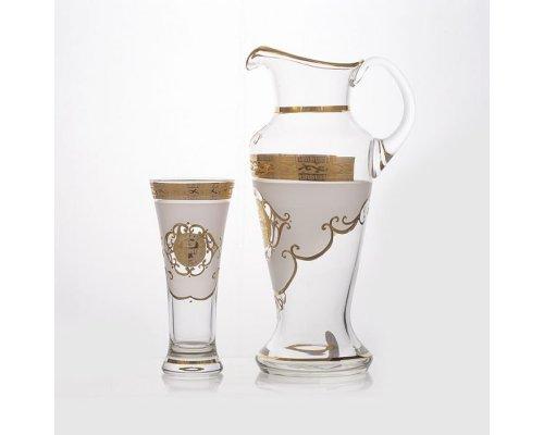 """Набор для воды на 6 персон 7 предметов Union Glass """"Испанский Богемия"""""""
