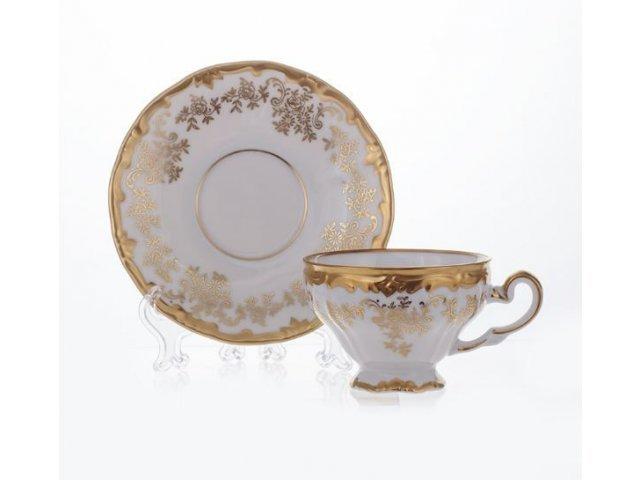 """Набор кофейный 160млна 6 персон 12 предметов Weimar Porzellan """"Кастэл"""" подарочный"""