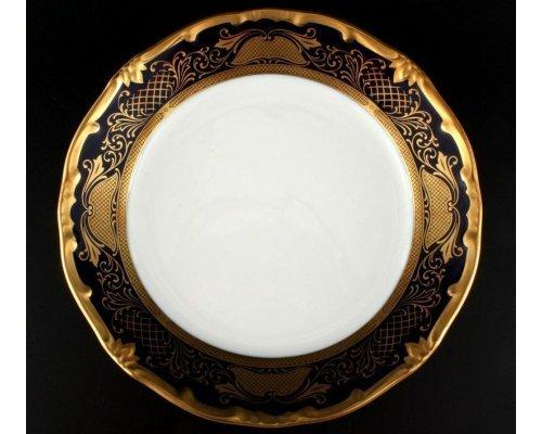 """Набор тарелок 19см. 6шт. Weimar Porzellan """"Симфония Кобальт"""""""