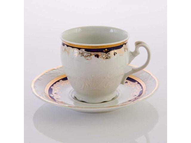 """Набор для чая 165мл. на 6 персон 12 предметов Thun """"Тулип 71300"""""""