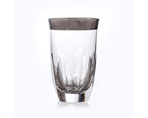 "Набор стаканов 250мл Kvetna ""Джесси платина """