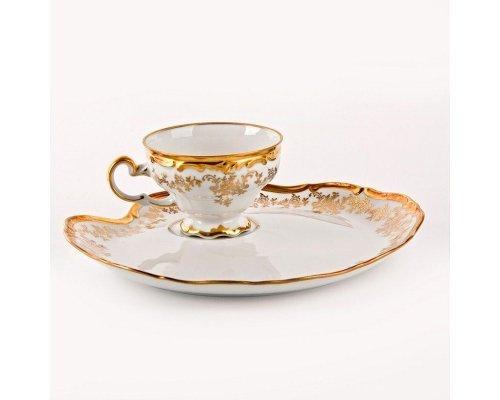 """Набор чайный Эгоист 210мл. на 1персону 2 предмета Weimar Porzellan """"Кастэл"""""""