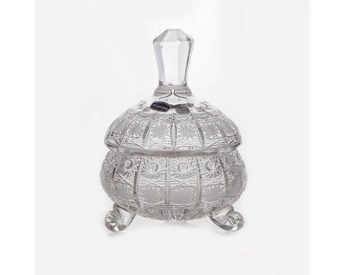 Конфетница доза 12 см Glasspo Bohemia (Богемия)