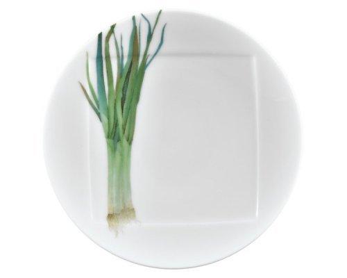 """Тарелка десертная Noritake """"Овощной букет"""" """"Зеленый лук"""" 16см"""