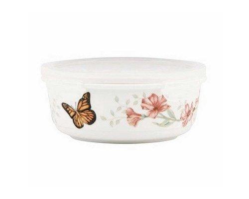 """Емкость для хранения продуктов с крышкой 600мл Lenox """"Бабочки на лугу"""""""