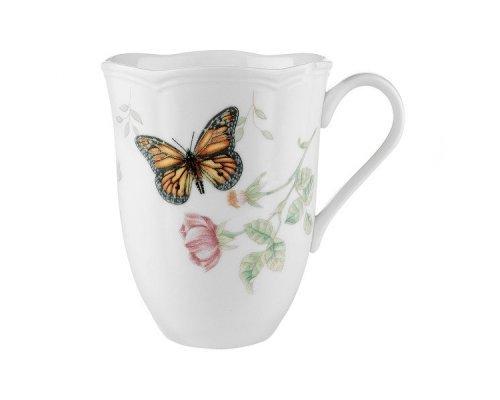 """Кружка 350мл Lenox """"Бабочки на лугу"""" """"Бабочка-Монарх"""""""